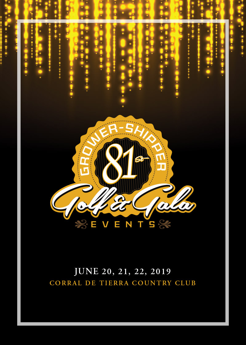 81st Annual Grower-Shipper Golf Tournament and Gala Events (Grower